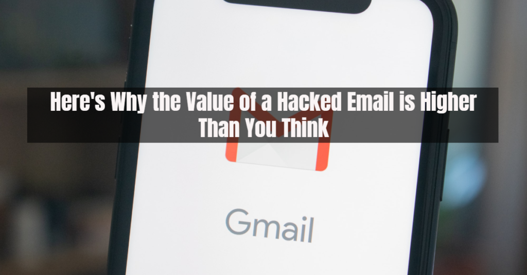 value hacked email